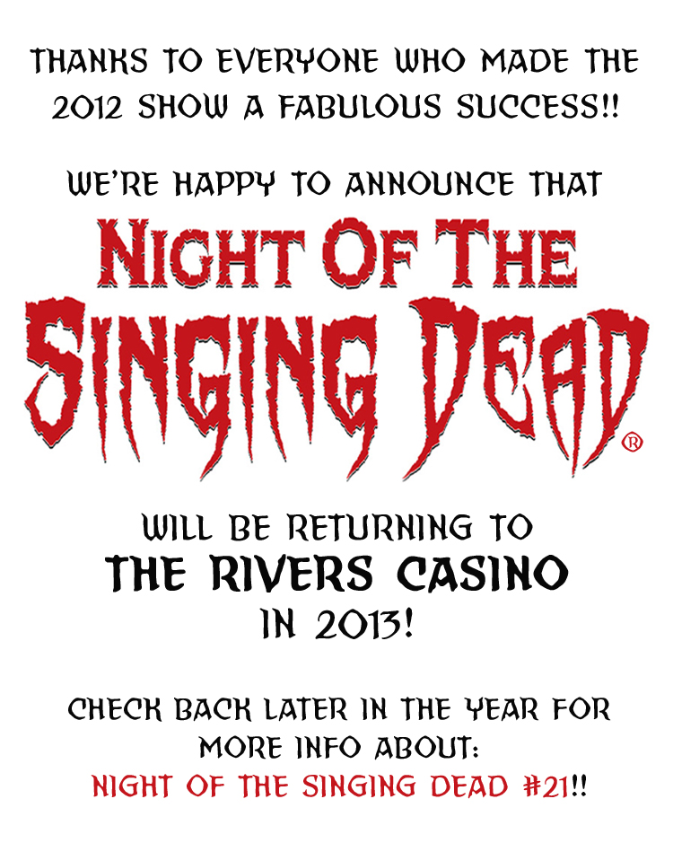 Night of the Singing Dead #20